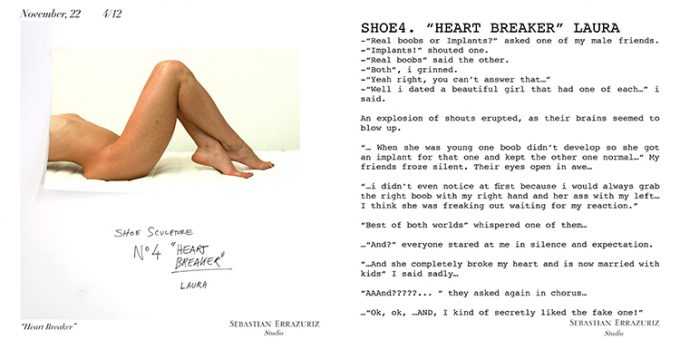 セバスチャン・エラスリス(Sebastian Errazuriz)の12 Shoes for 12 Lovers