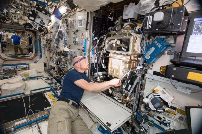 宇宙飛行士のアレクサンダー・ゲルスト(Alexander Gerst)