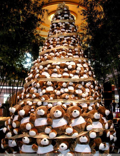 コンラッドセンテニアルシンガポールの「コンラッドベアツリー」がかわいい(笑)
