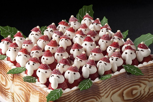 すごい! イナバの物置みたいな名古屋観光ホテルのクリスマスケーキ(笑)