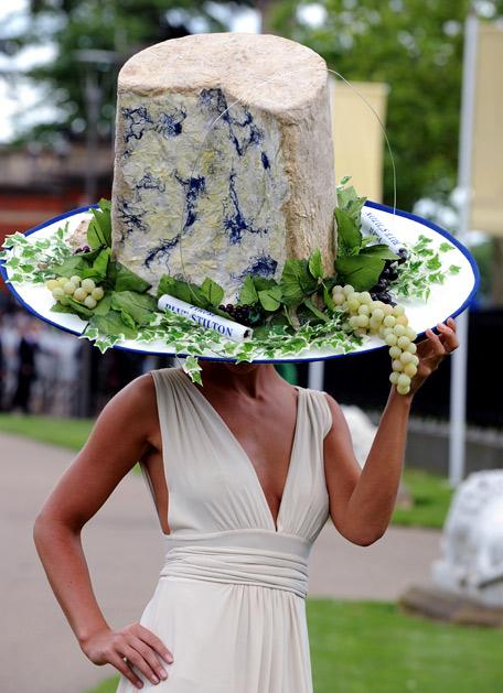ロイヤルアスコットで見かけた貴婦人たちの帽子Royal Ascot Race Meeting hat