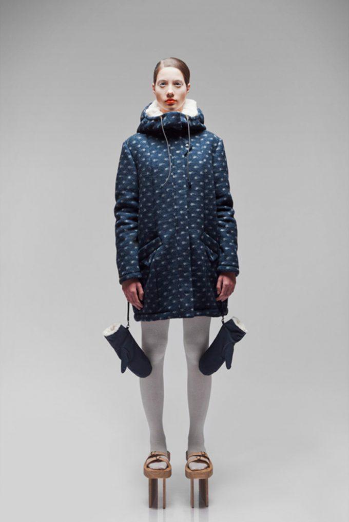 ナマコ! オランダ人デザイナーの考えた防寒着がナマコすぎてインパクト大(笑)