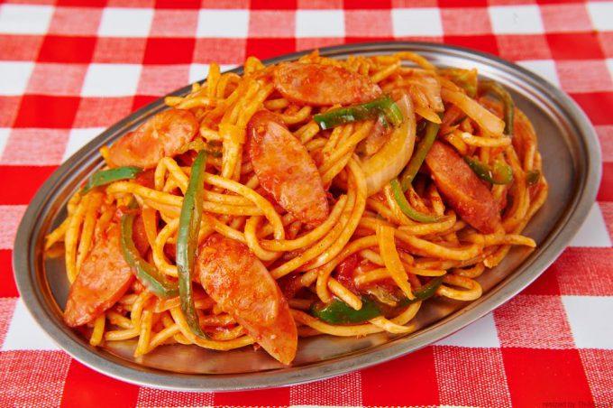 スパゲッティーのパンチョのナポリタン