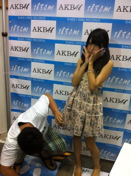 これOK? NMB48村上文香の写メ会の様子にびっくり(笑)