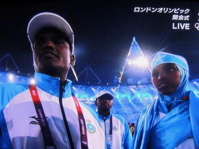 ドラえもん? 2012ロンドンオリンピックのソマリア選手団がドラえもん(笑)