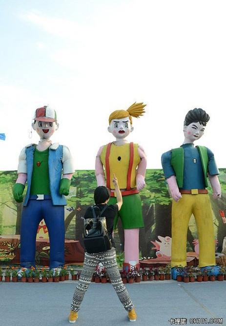 中国温州アニメフェスに展示されたポケモン