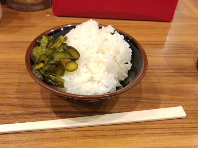 横浜家系ラーメン「町田商店」の河童の好物