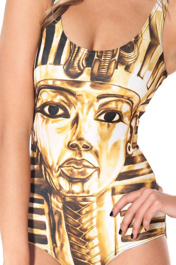 【水着おもしろ画像】ゴールド! ツタンカーメン水着がインパクトあってシュール(笑)