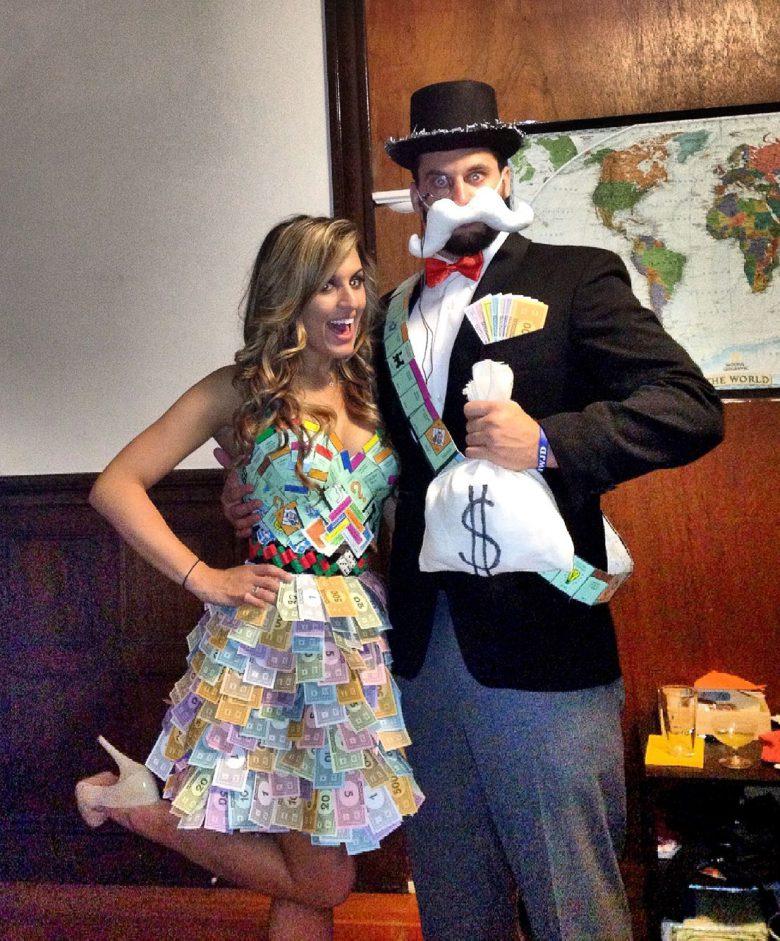 【海外ハロウィンおもしろ仮装画像】お金持ち! ボードゲーム「モノポリー」のハロウィン仮装がおもしろい(笑)