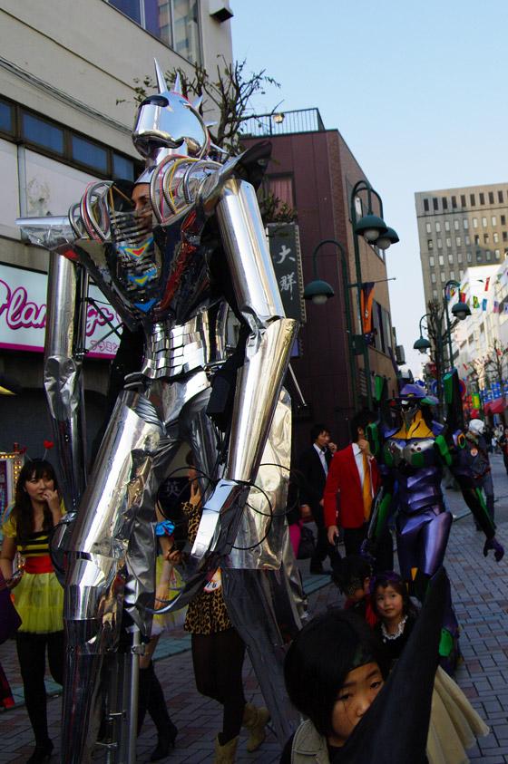 2009川崎ハロウィングランプリ仮装の巨身兵
