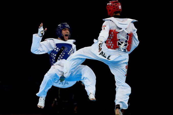 ロンドンオリンピック2012テコンドーで痛そうなところを蹴られる事故(笑)