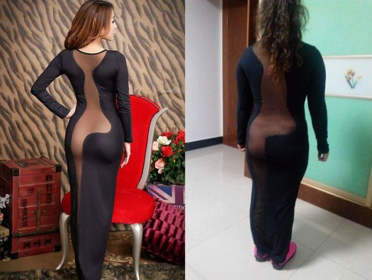 悲しみ! ネットショップで買ったドレスの理想と現実(笑)