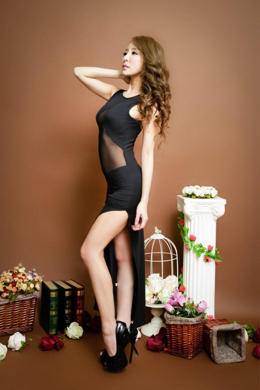 黒セクシードレス