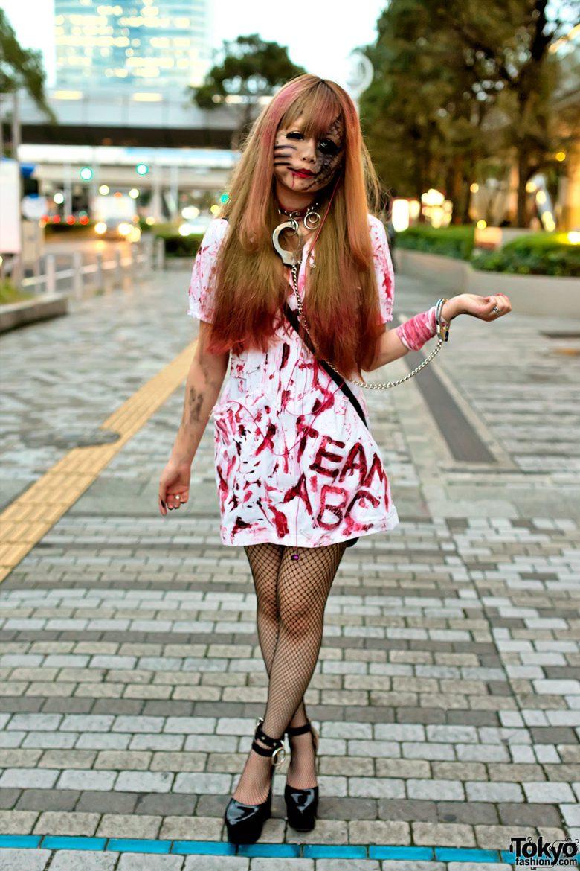 【ハロウィンおもしろ仮装画像】すご! VAMPSハロウィンパーティー2013で見かけたゾンビ仮装のレベルが高い(笑)