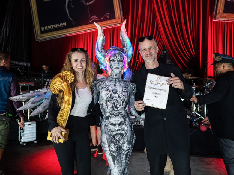 World Bodypainting Festival 2019優勝のClaudia Kraemer