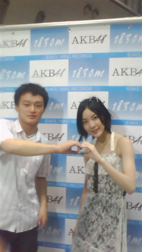 【オタクおもしろ画像】悲しい! SKE48チェキ会でイケメンとそうじゃない人で対応が違う松井珠理奈(笑)