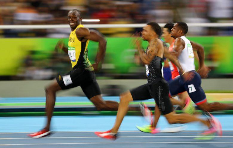 この余裕! 2016リオオリンピックで他選手との差を見せつけるウサイン・ボルト(笑)