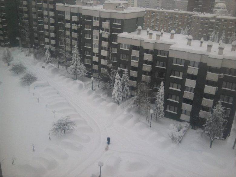 大雪! 2012年2月にヨーロッパを襲った大寒波でセルビアがすごいことに!