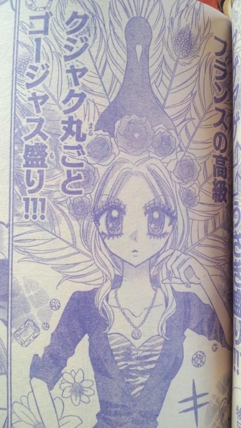 【少女漫画の姫ギャルパラダイスおもしろ画像】少女漫画姫ギャルパラダイスのクジャク丸ごとゴージャス盛り