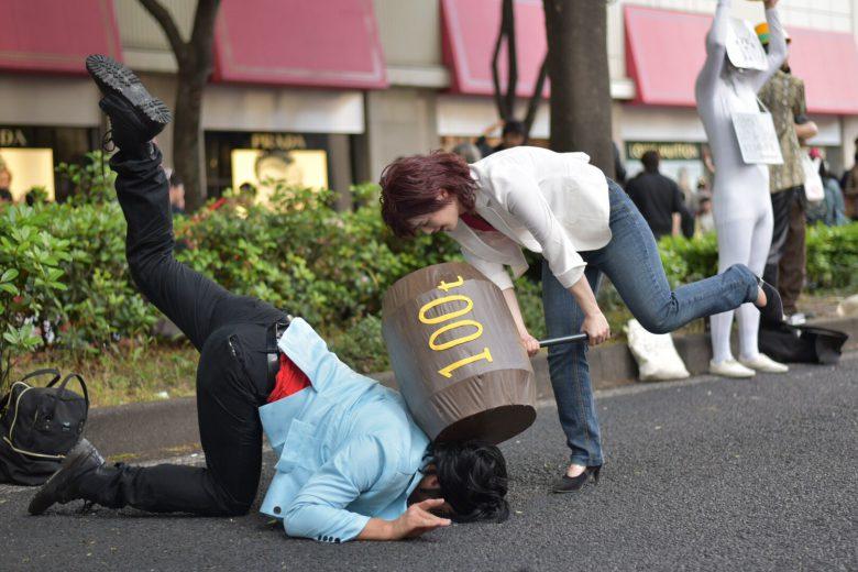 【おもしろコスプレ画像】ホココスのシティーハンター冴羽獠と槇村香のコスプレが再現度高い(笑)