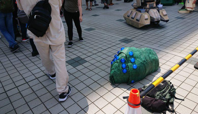 【コミケおもしろコスプレ画像】風の谷のナウシカの王蟲コスプレがレベル高すぎ(笑)