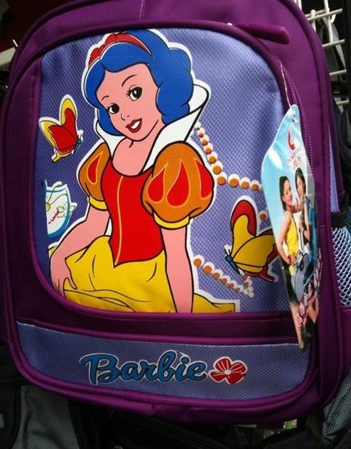 白雪姫がデザインされた海外のパクリ商品がひどい(笑)