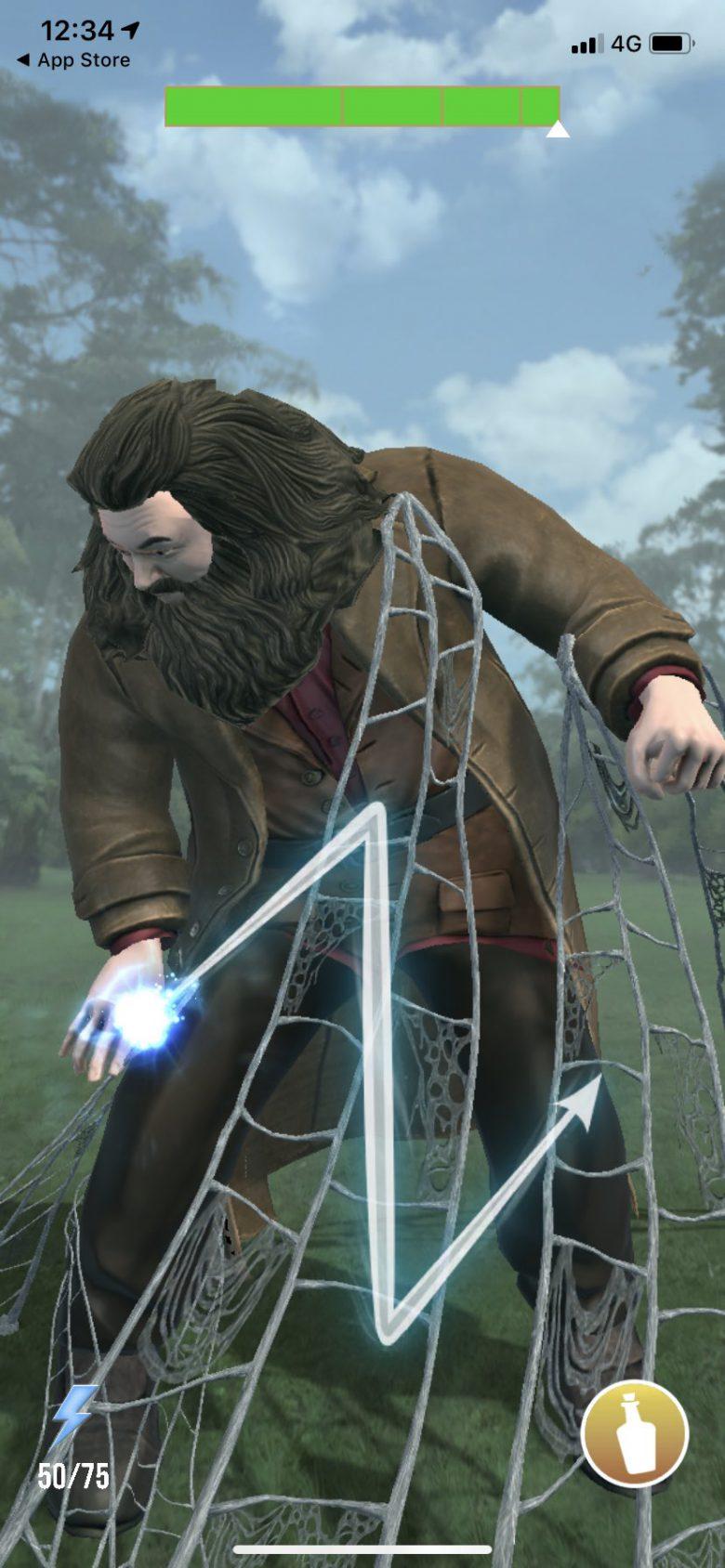 ハグリッドを捕獲するという意味不明なゲーム『ハリーポッター:魔法同盟』(笑)