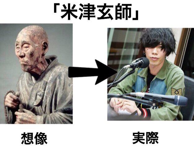 米津玄師を知らない人が勝手に想像したイメージと現実がおもしろい(笑)