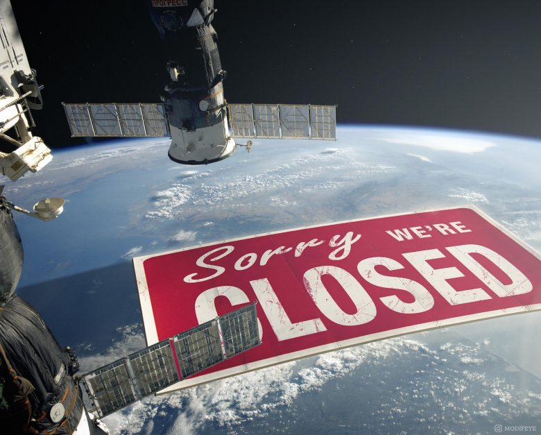 【コロナで起きたおもしろ画像】新型コロナの影響で地球ごとロックダウン(笑)