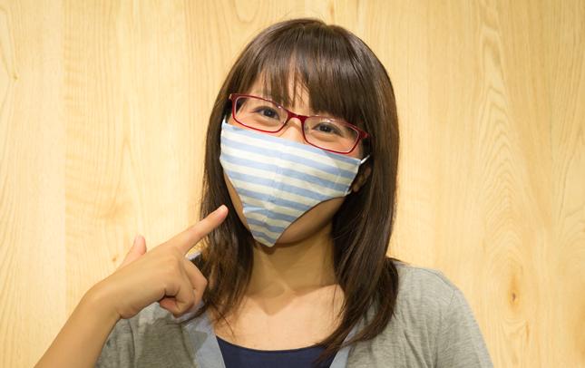 装着が恥ずかしいマスク「パンツマスク」(笑)