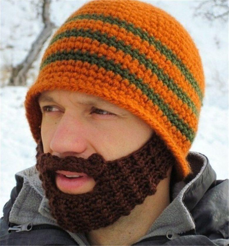 【おもしろ帽子画像】遊び心ある口ひげ帽子がかわいい(笑)