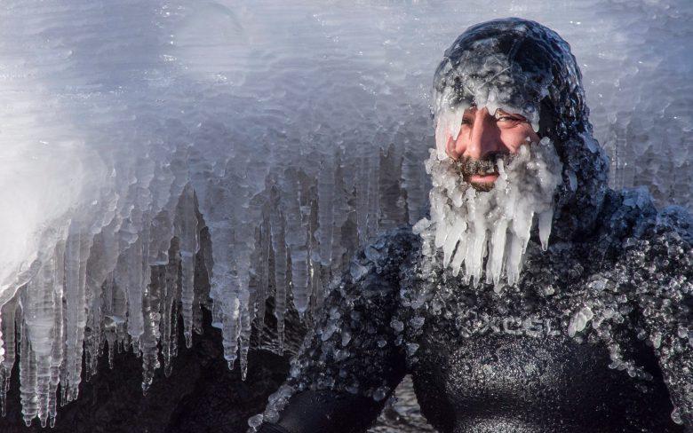 クリスマスのスペリオル湖の寒さがやばい(笑)