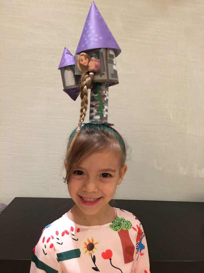 【ヘアスタイル・髪型おもしろ画像】発想がユニークな塔の上のラプンツェルヘアスタイル(笑)