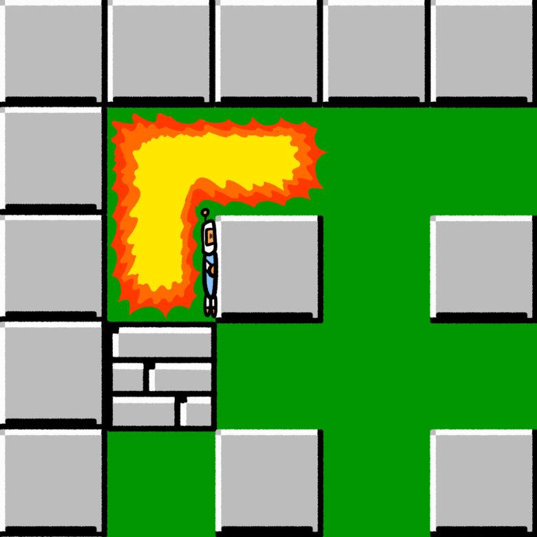 【ゲームおもしろ画像】爆弾の設置ミスをしても生き残るボンバーマン(笑)