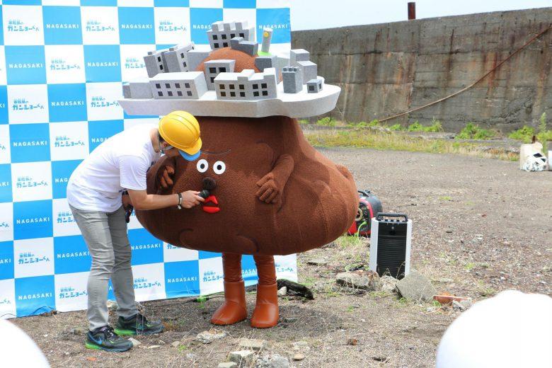 【ゆるキャラおもしろ画像】ウンコに見える長崎軍艦島のキャラクター「ガンショーくん」(笑)