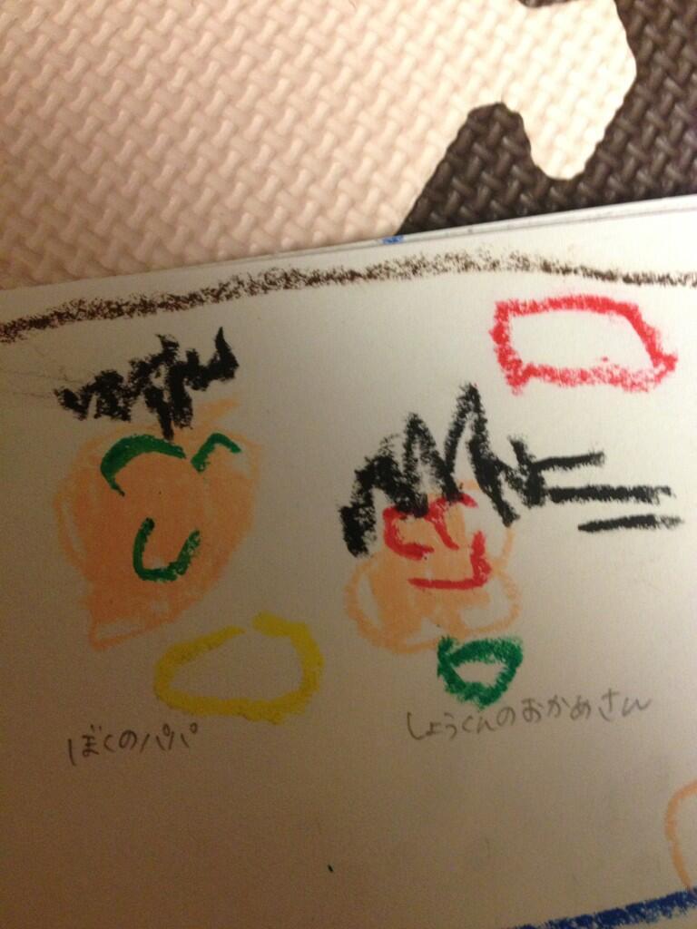 保育園を震撼させた息子が描いた衝撃の絵(笑)