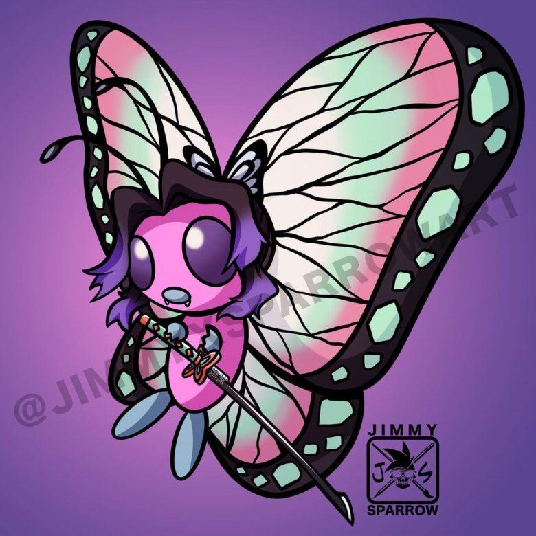 胡蝶しのぶ×バタフリー