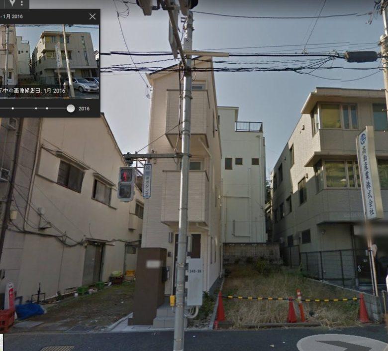 文京区大塚の細長すぎる住宅(笑)