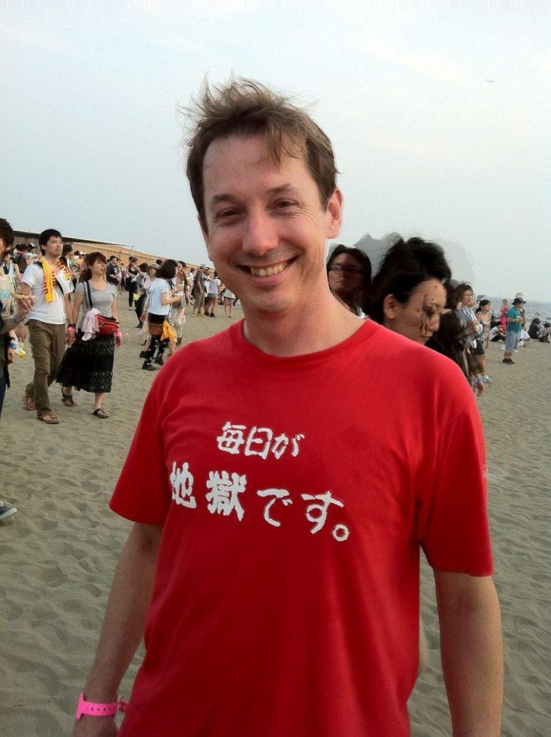【日本語Tシャツおもしろ画像】外国人が着ていたおもしろいTシャツ(笑)