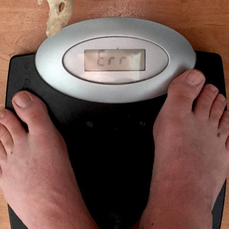 【女子力おもしろ画像】体重計に乗って表示された数値にびっくり(笑)