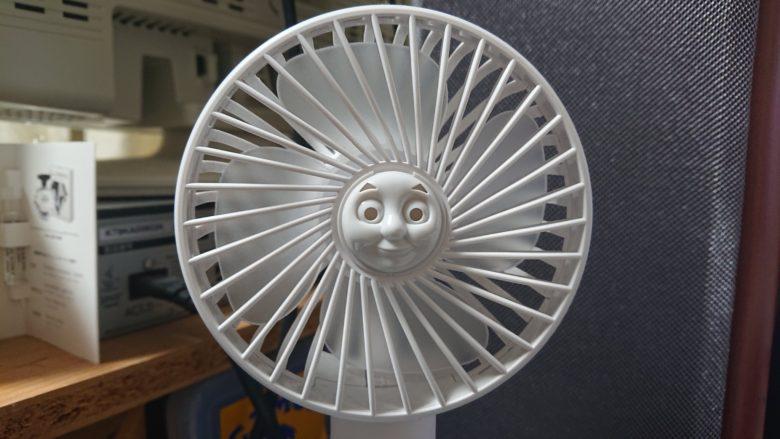 【扇風機トーマスおもしろ画像】扇風機にピッタリはまるトーマス(笑)