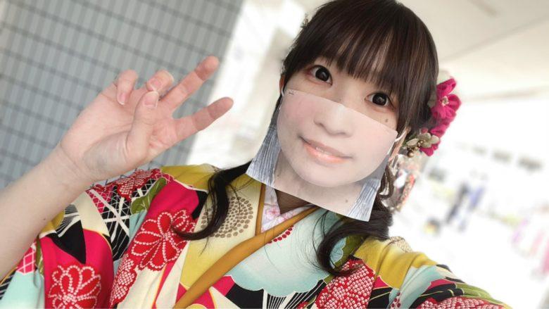 【マスクおもしろ画像】コロナ禍でも顔が見える顔写真マスク(笑)