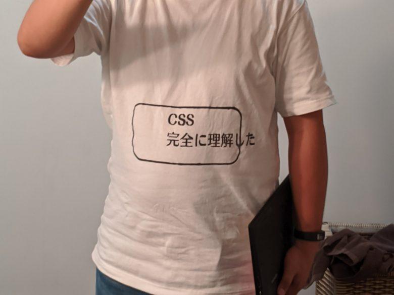 思わずツッコミたくなる「CSS完全に理解した」Tシャツ(笑)