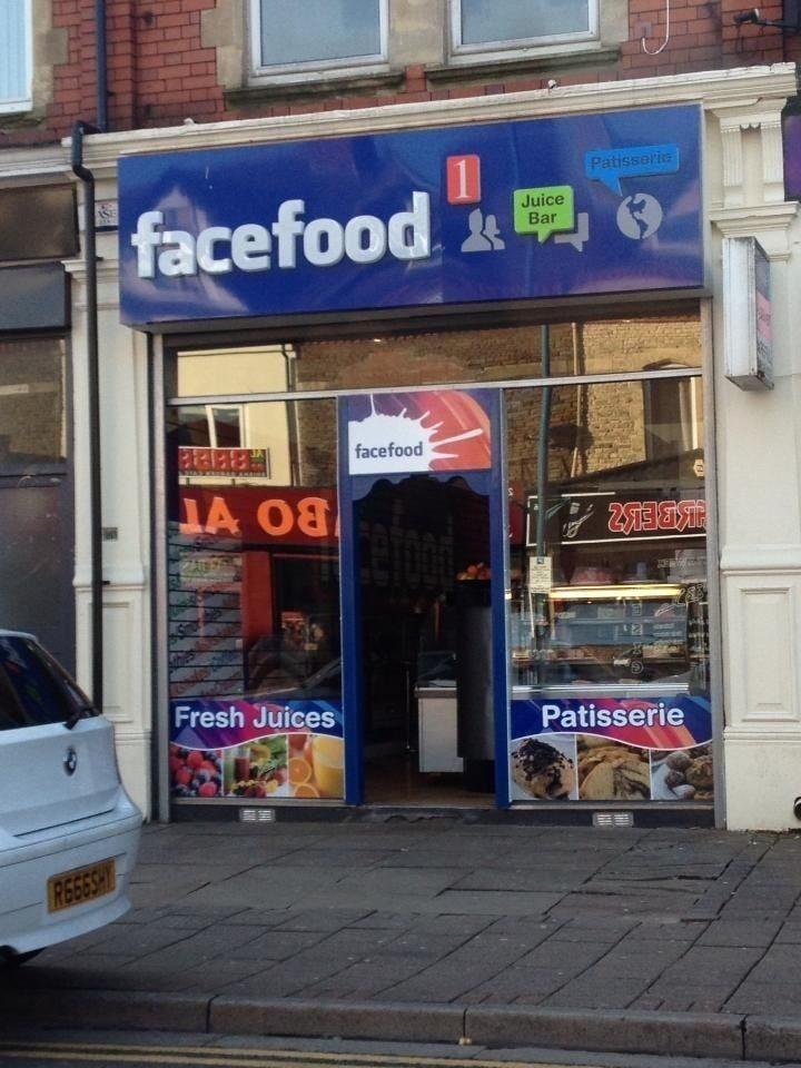 【海外パクリおもしろ画像】Facebookのパクり飲食店「facefood」(笑)