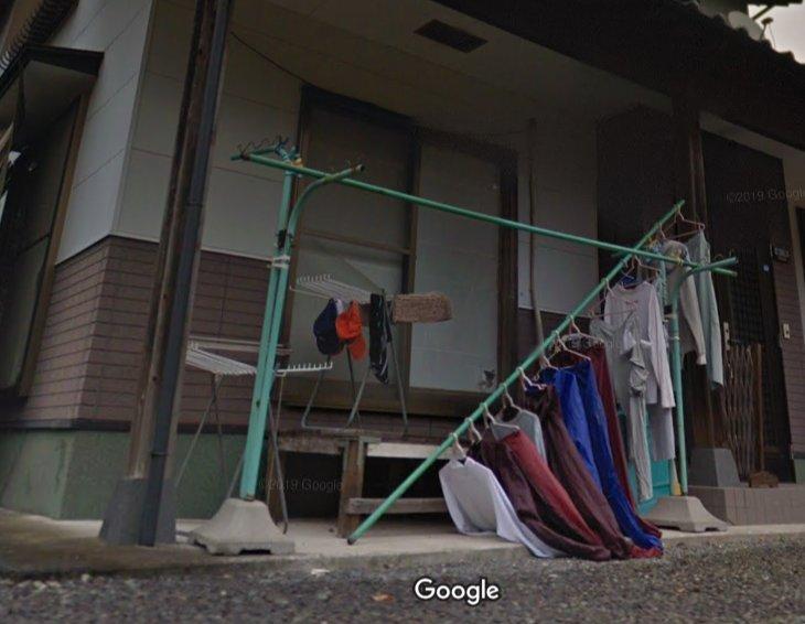 【Googleストリートビューおもしろ画像】Googleストリートビューで見かけた気になるお家(笑)