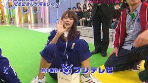 アウト! 番組『アイドリング!!!』でフジテレビのロゴがアイドルのアレに一致(笑)