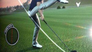 新打法? ゴルフゲームですごいスイングをするゲームバグ(笑)
