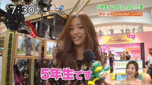 JS?『ズームイン!!サタデー』小学生インタビュー2011夏に出演した女子小学生たち(笑)