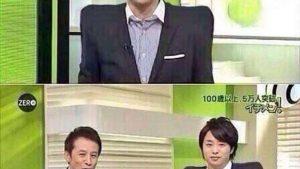 同化! 『NEWS ZERO』で櫻井 翔の「なで肩」が治ってしまう不思議な椅子(笑)